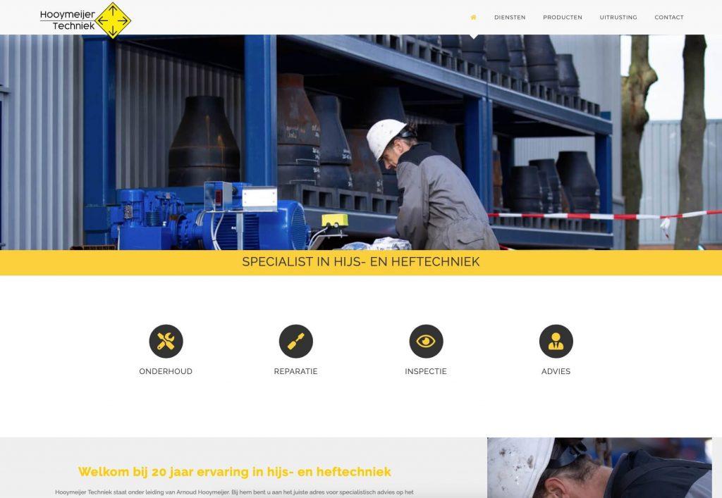 Hooymeijer_techniek - Hijstechniek en Heftechniek - Website realisatie: Obviousmedia.nl