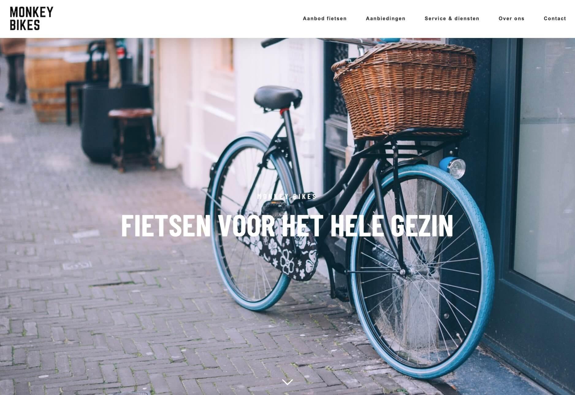 Kinderfietsen_en_stadsfietsen_Almelo_-_Monkey_Bikes - Website realisatie: Obviousmedia.nl